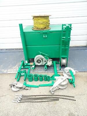 Greenlee 640 4000 Lbs Wire Cable Tugger Puller Set 1 Lk