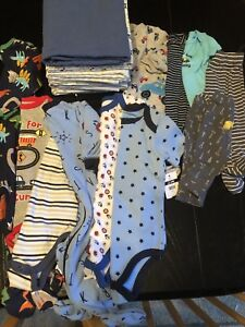Baby Boy 0-9 Month Clothing Lot