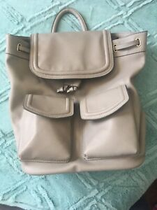 Grey small backpack
