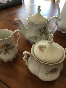 Antique Bavarian Tea service for 12.