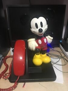 Mickey Mouse Telephone; ON HOLD!!!