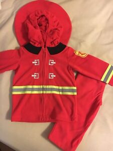 Firefighter costume 12M