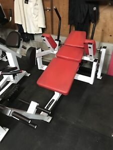 Atlantis Plate Loaded SIT UP Abdominal Bench