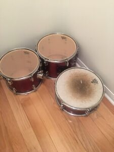 Cb snare, and cb toms