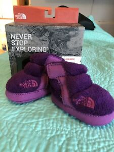 North face baby boots