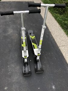 Snow scooters - Stiga Snow Kick - great condition - barely used
