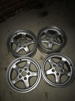 Two sets of VL Walkinshaw wheels Appin Wollondilly Area Preview