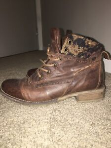 Authentic Josef Seibel leather boots