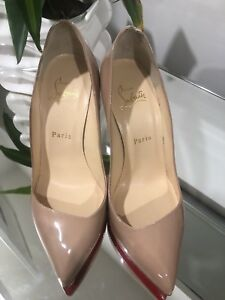 Christian Louboutin nude heels *AUTHENTIC*