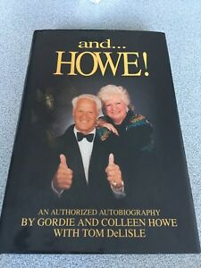 Gordie and Colleen Howe autographed  book