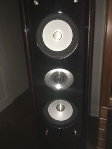 Pure acoustics dream 77-f surround speakers and sub