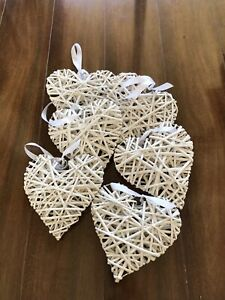 Wedding47engagement Wooden Heart Decorations Decorative
