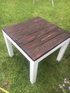 Bench and  end table