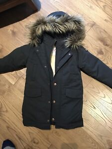Never worn youth 5T black Appaman winter jacket