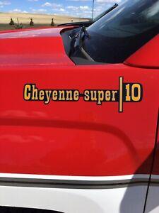 2018 Chevy Cheyenne Super Big 10