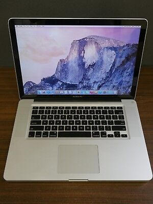 "Apple 2011 MacBook Pro 15"" / 2.20Ghz QUAD-Core i7 / 4GB / 500GB / DVD Grade C"