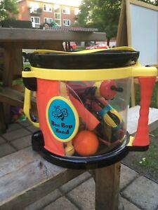 Tambours pour enfants avec instruments