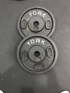 35 lbs plates! Workout gym fitness