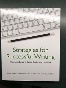 UPEI 1010 Strategies for Successful Writing Textbook