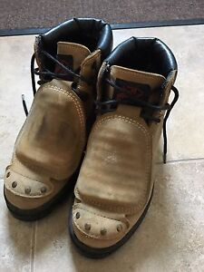 Steel Toe Shoes with Toe Plate