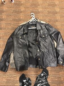 Leather Jackets and Branded Clothes
