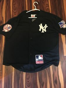 Supreme x New York Yankees Jersey