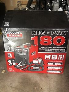 Lincoln Electric MIG PACK 180 MIG/FLUX CORED WIRED FEED WELDER