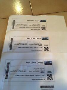 Men of The Deeps Tickets