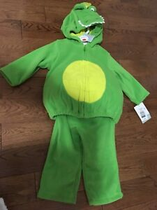 Carter's 12 month dinosaur costume (new with tags)