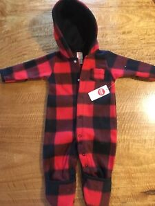 Baby fleece suit size 6 months brand new