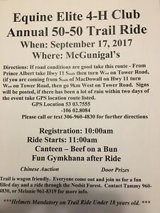 Trail Ride September 17, 2017