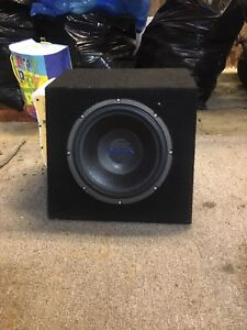 Orion Subwoofer with Pioneer amplifier
