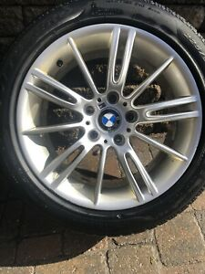 BMW ORIGINAL MAGS JANTES M PERFORMANCE 17'