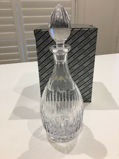 Crystal decanter- new in box