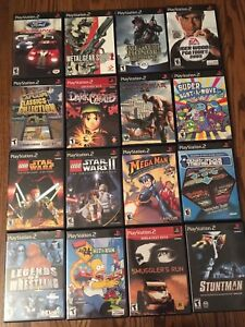 Sony Playstation 2 Games PS2