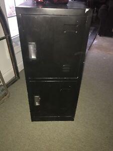 Locker style filing cabinet