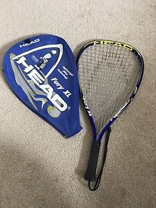 Fury XL Raquetball Racket and cover