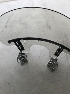Harley Sportster quick release windshield