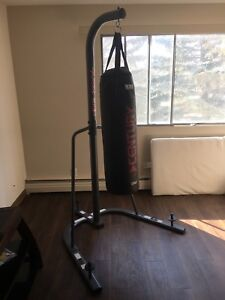 Boxing stand plus bag
