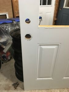 "New Insulated Metal Exterior 36""  Door- No Window"