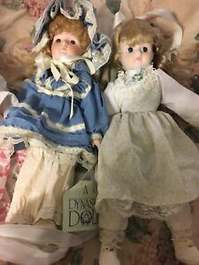 Porcelain dolls (dynasty collectables)