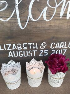 Vintage Rustic Wedding Decor