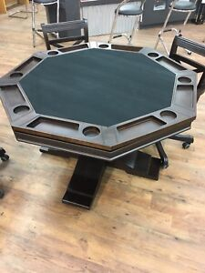 8 man poker table clearance now on
