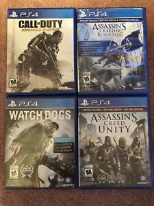 4 PlayStation 4 games (PS4)