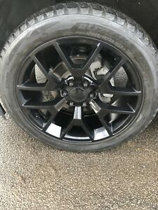 Winter tires and rims for Gmc truck, Escalade etc