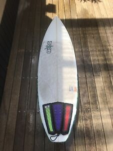 5'7 DHD Project 15 surfboard