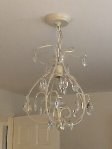 Ceiling light for young girl's bedroom or playroom
