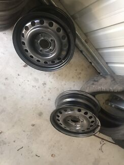"""Freshly powder coated 15"""" Holden  Commodore pursuit rims Singleton Heights Singleton Area Preview"""
