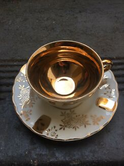 X5 Antique tea cup and saucer  made in Japan