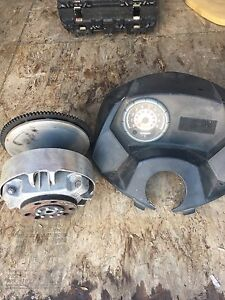 Skidoo RT/SDI clutch and gauge